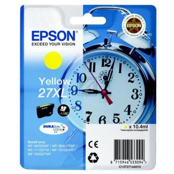 Epson Tintenpatrone gelb HC (C13T27144012, T2714)