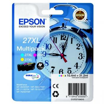 Original Epson C13T27154012 / 27XL Tinte color
