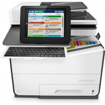 Hewlett Packard Pagewide Managed Color Flow MFP E 58650 Z
