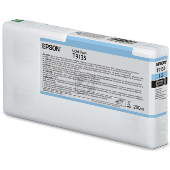 Epson Tintenpatrone cyan light (C13T913500, T9135)
