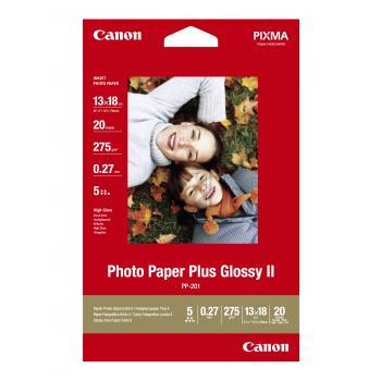 Canon Fotopapier glänzend weiß 20 Blatt 13 x 18 cm 260 g/m² (2311B018)