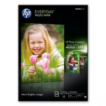 HP EVERYDAY PHOTO PAPER, 200 g/m² in A4, Pack à 100 Blatt