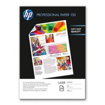 HP Normalpapier glänzend weiß 50 Blatt DIN A4 150 g/m² (CG965A)