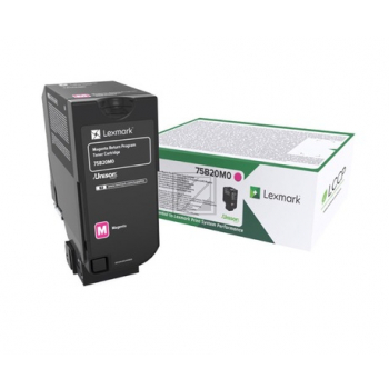Lexmark Toner-Kit Return Program magenta (75B20M0)