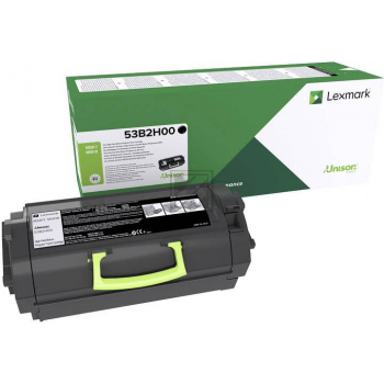 Lexmark Toner-Kit Return schwarz HC (53B2H00)
