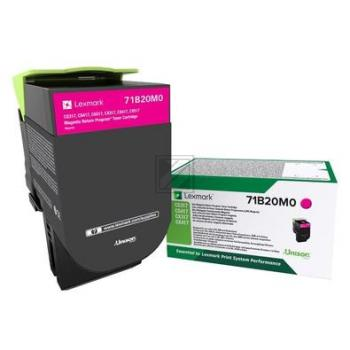 Lexmark Toner-Kit Return magenta (71B20M0)