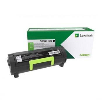 Lexmark Toner-Kartusche Return Program schwarz HC (51B2H00)