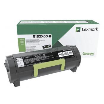 Lexmark Toner-Kartusche Return Program schwarz HC plus (51B2X00)
