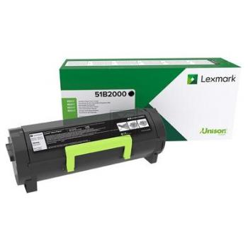 Lexmark Toner-Kartusche Return Program schwarz (51B2000)