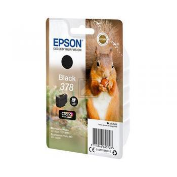 Epson Tintenpatrone schwarz (C13T37814010, 378)