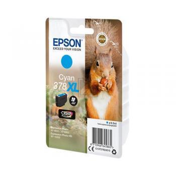 Epson Tintenpatrone cyan HC (C13T37924010, 378XL)