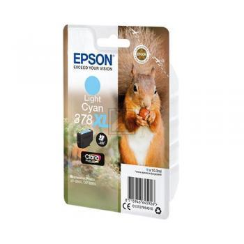 Epson Tintenpatrone cyan light HC (C13T37954010, 378XL)
