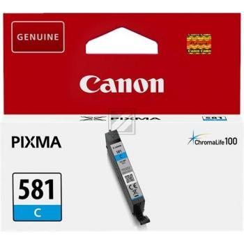 Canon Tintenpatrone cyan (2103C001, CLI-581C)