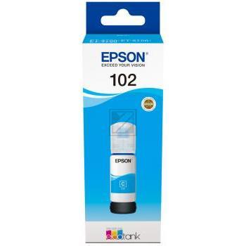 Epson Tintennachfüllfläschchen cyan (C13T03R240, 102)