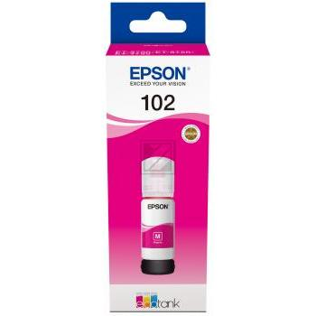Epson Tintennachfüllfläschchen magenta (C13T03R340, 102)