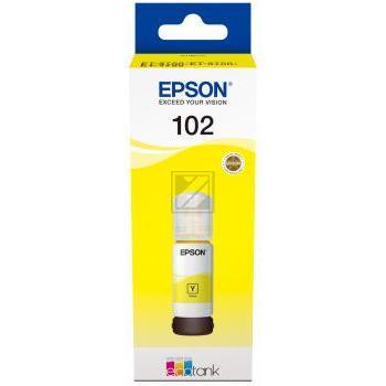 Epson Tintennachfülltank gelb (C13T03R440, 102)