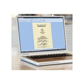 sigel Motiv-/Designpapier, 90 g/m² in A4, Champagne, Pack à 100 Blatt