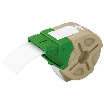 LEITZ     Endlosettiket.Kassette  Papier 70110001  12mmx22m       weiss permanent