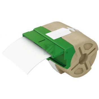 LEITZ     Endlosettiket.Kassette  Papier 70120001  36x88mm    600 Stück permanent