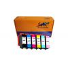 Start - 6 XL Ersatz CHIP Tintenpatronen kompatibel zu Epson 378BK (Schwarz) 378C (Cyan) 378M (Magenta) 378Y (Gelb) 378LC (Foto-Cyan) 378LM  (Foto-Magenta)