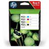 HP Tintenpatrone gelb, cyan, schwarz, magenta (3HZ52AE, 953XL)