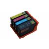 4 XL Ersatz Chip Druckerpatronen kompatibel zu Lexmark 150XL Schwarz, Cyan, Magenta, Gelb