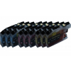 9 Compatible Ink Cartridges to Brother LC127 / LC125  (C, M, Y) XL