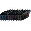 9 XL Ersatz Chip Patronen kompatibel zu Brother LC-125C XL Cyan, LC-125M XL Magenta, LC-125Y XL Gelb