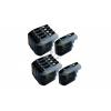 10 XL Ersatz Chip Patronen kompatibel zu Brother LC-127BK XL Schwarz, LC-125C XL Cyan, LC-125M XL Magenta, LC-125Y XL Gelb