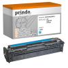 Prindo Toner-Kartusche cyan (PRTHPCB541A) ersetzt 125A
