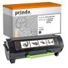 Prindo Toner-Kit schwarz HC (PRTL52D2H00) ersetzt 522H