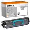 Prindo Toner-Kartusche schwarz HC plus (PRTLX463X11G) ersetzt X463X11G