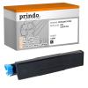Prindo Toner-Kit schwarz (PRTO44574702) ersetzt 44574702
