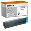 Prindo Toner-Kit schwarz (PRTO44917602) ersetzt 44917602
