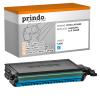 Prindo Toner-Kartusche cyan HC (PRTSCLPC660B) ersetzt 660