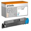 Prindo Toner-Kit cyan (PRTKYTK590C) ersetzt TK-590C