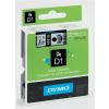 Dymo Schriftbandkassette schwarz/transparent (45010)