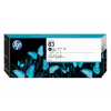 HP 83 | UV | 680ml, HP Tintenpatrone, schwarz