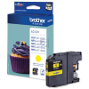Brother LC123Y | 600 Seiten, Brother Tintenpatrone, gelb