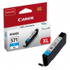 Canon CLI571XL | C | 11 ml, Canon Tintenpatrone mit hoher Reichweite, cyan