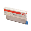 OKI Toner-Kit gelb HC (46443101)