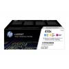 HP Toner-Kartusche gelb cyan magenta HC (CF252XM, 410X)