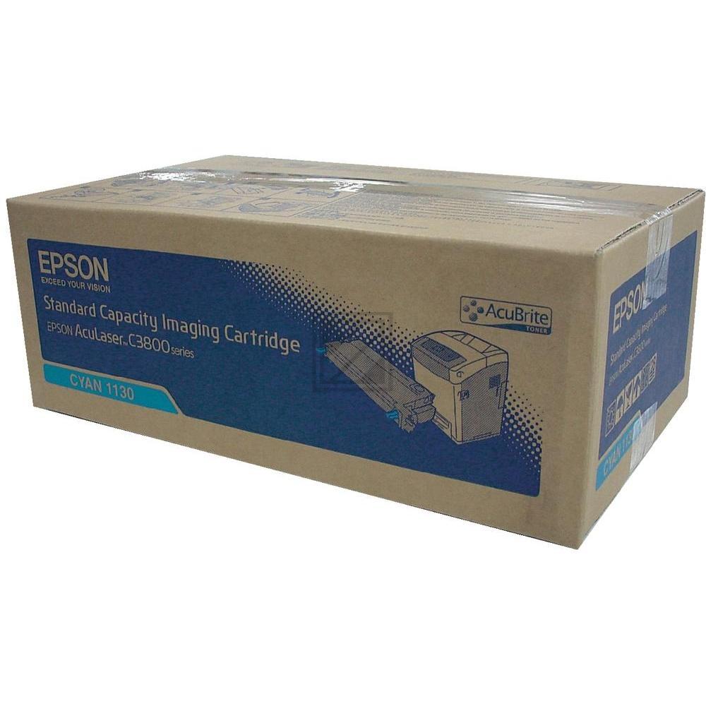 Original Epson C13S051130 / S051130 Toner Cyan