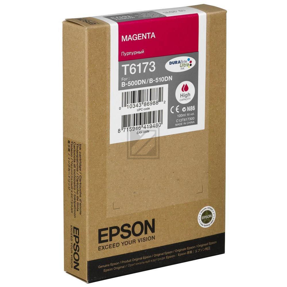 Original Epson C13T617300 / T6173 Tinte Magenta XXL