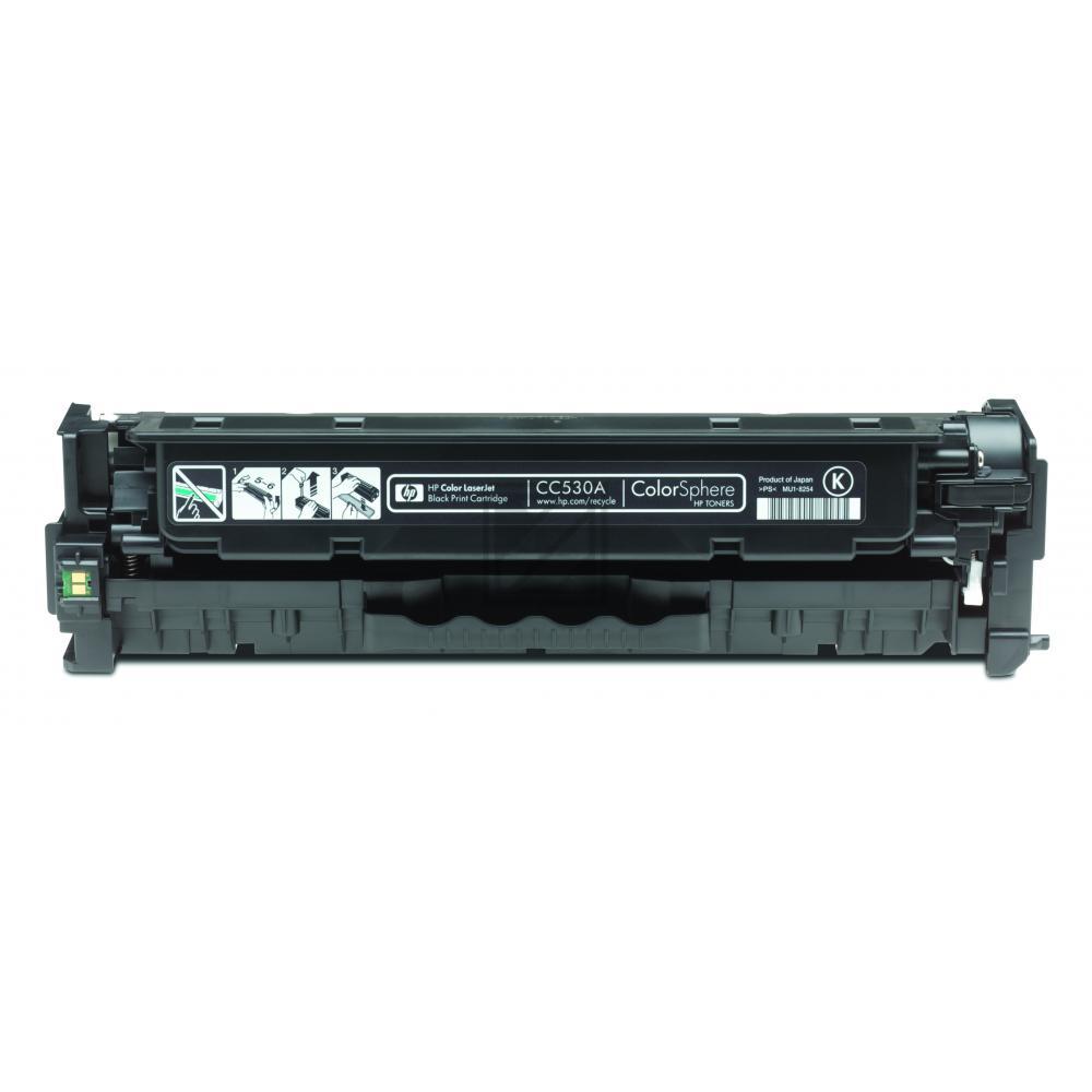 Original HP CC530A / 304A Toner Schwarz