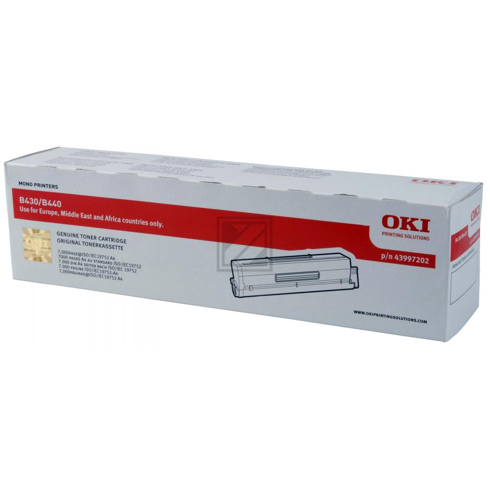 Original OKI 43979202 Toner Black