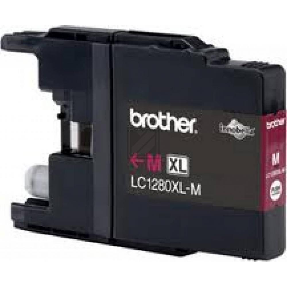 Brother Tintenpatrone Blister magenta HC (LC-1280XLM)