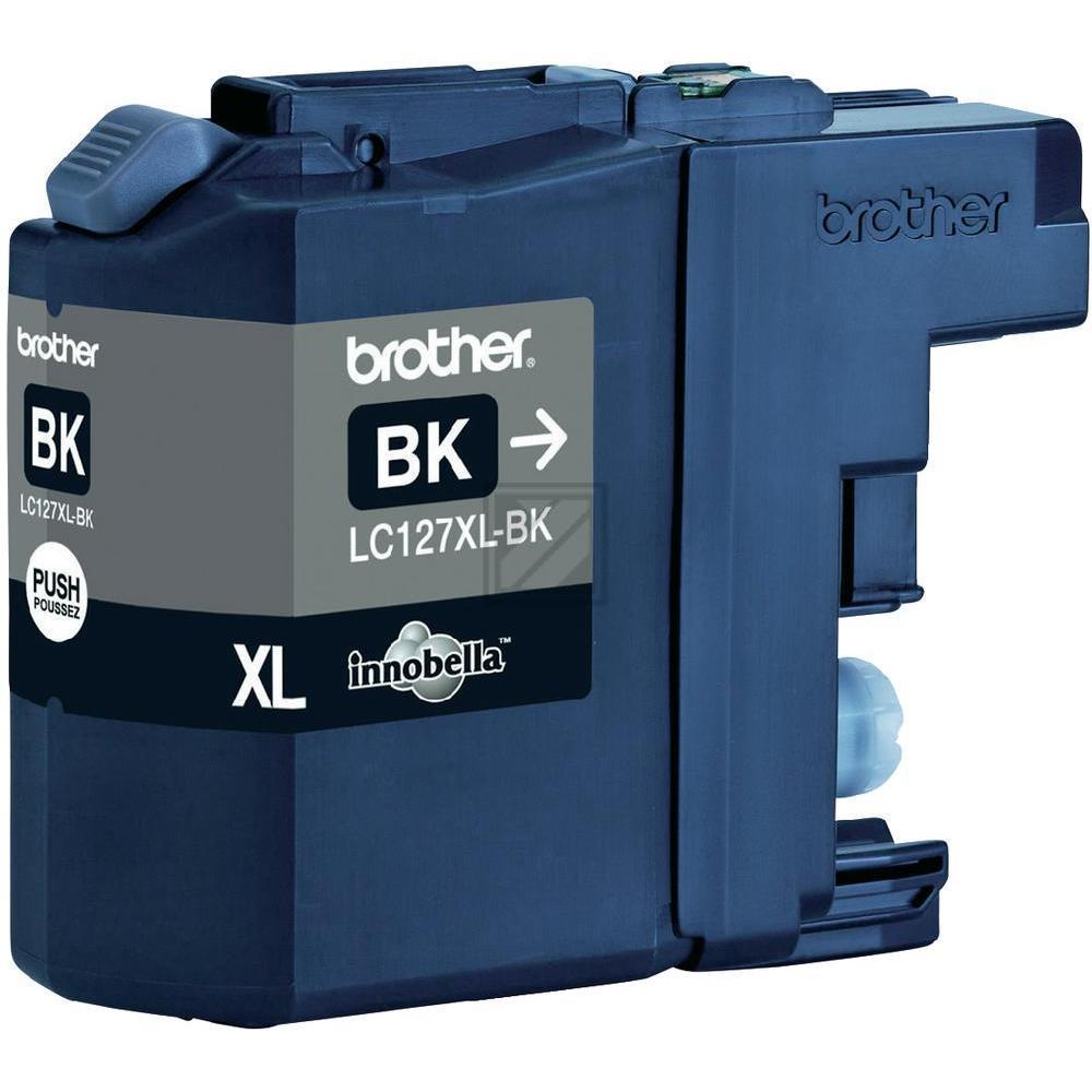 Brother Tintenpatrone schwarz HC (LC-127XLBK)
