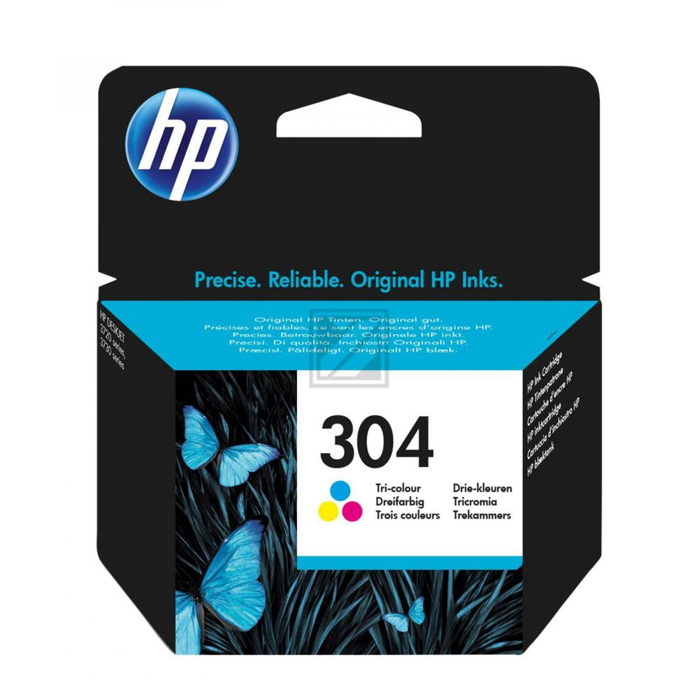 Original HP N9K05AE / 304 Tinte Color