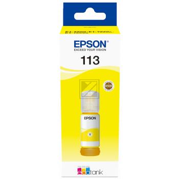 Epson Tintennachfüllfläschchen gelb (C13T06B440, 113)